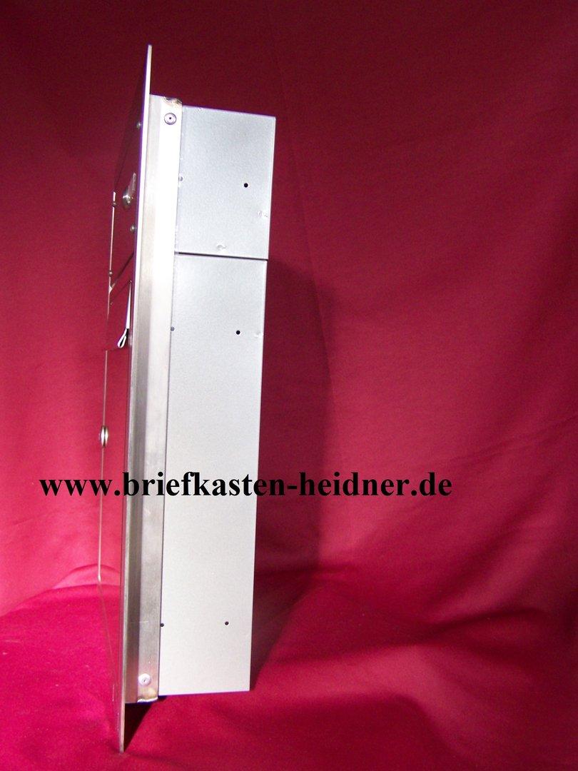 uph05 knobloch unterputz briefkasten 1 teilig tiefe 100. Black Bedroom Furniture Sets. Home Design Ideas