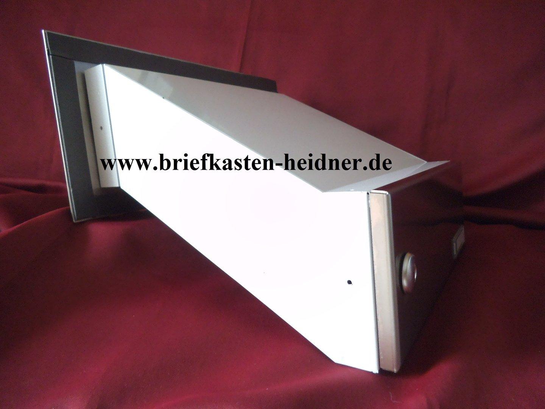 mdh14 knobloch mauerdurchwurf briefkasten 1 teilig tiefenverstellbar edelstahl www. Black Bedroom Furniture Sets. Home Design Ideas