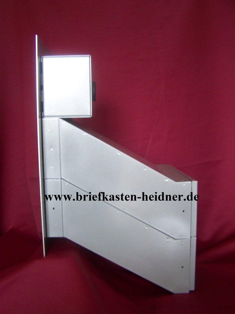 mdh44 mauerdurchwurf briefkastenanlage doppelbriefkasten 260mm 2 tlg variable tiefe. Black Bedroom Furniture Sets. Home Design Ideas