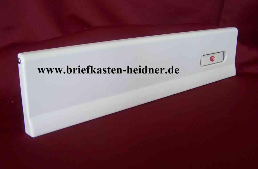 ITH35: Renz-Einwurfklappe Innentür Briefkasten, 370, weiß, mit RSA1 ...