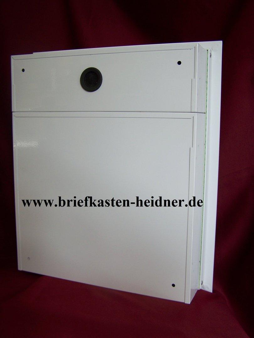 uph07 knobloch unterputz briefkasten 1 teilig tiefe 100. Black Bedroom Furniture Sets. Home Design Ideas