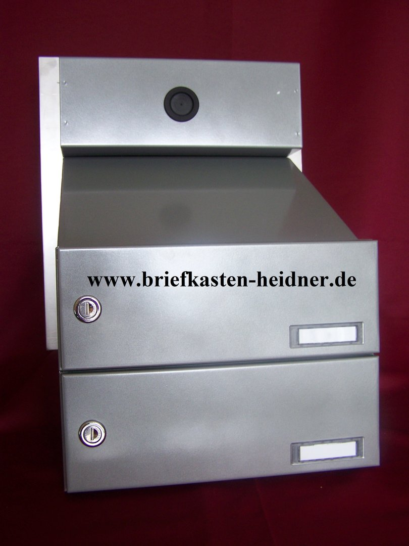 mdh46 mauerdurchwurf briefkasten anlage doppelbriefkasten. Black Bedroom Furniture Sets. Home Design Ideas