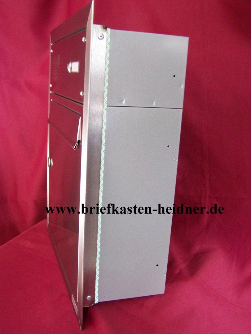 uph12 knobloch unterputz briefkasten 1 klingel edelstahl tiefe 160 briefkastenanlagen f rs. Black Bedroom Furniture Sets. Home Design Ideas