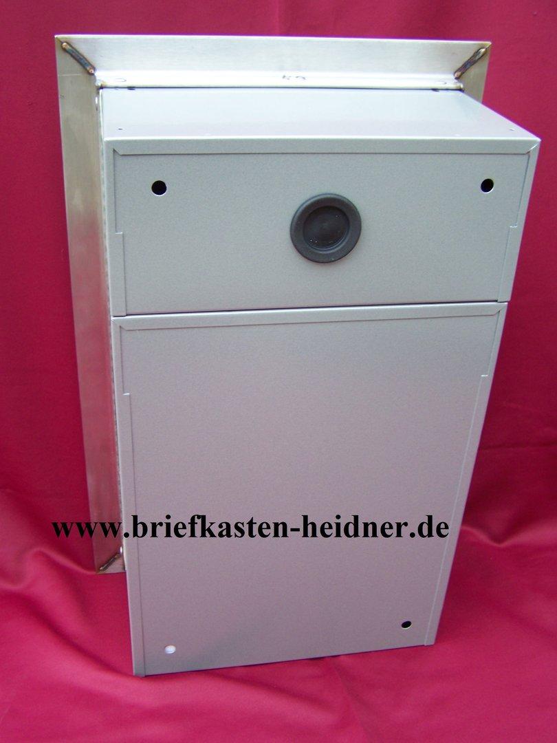 UPH35 Knobloch Unterputz Briefkasten 260 1 Klingel Edelstahl