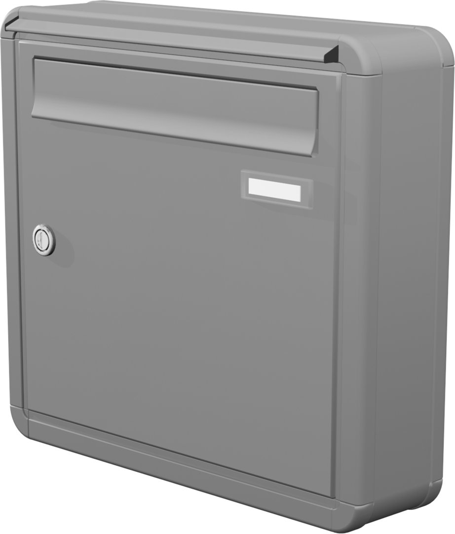 aph101 aufputz briefkasten 1 tlg tiefe 100 verkleidung ri220 farbauswahl. Black Bedroom Furniture Sets. Home Design Ideas