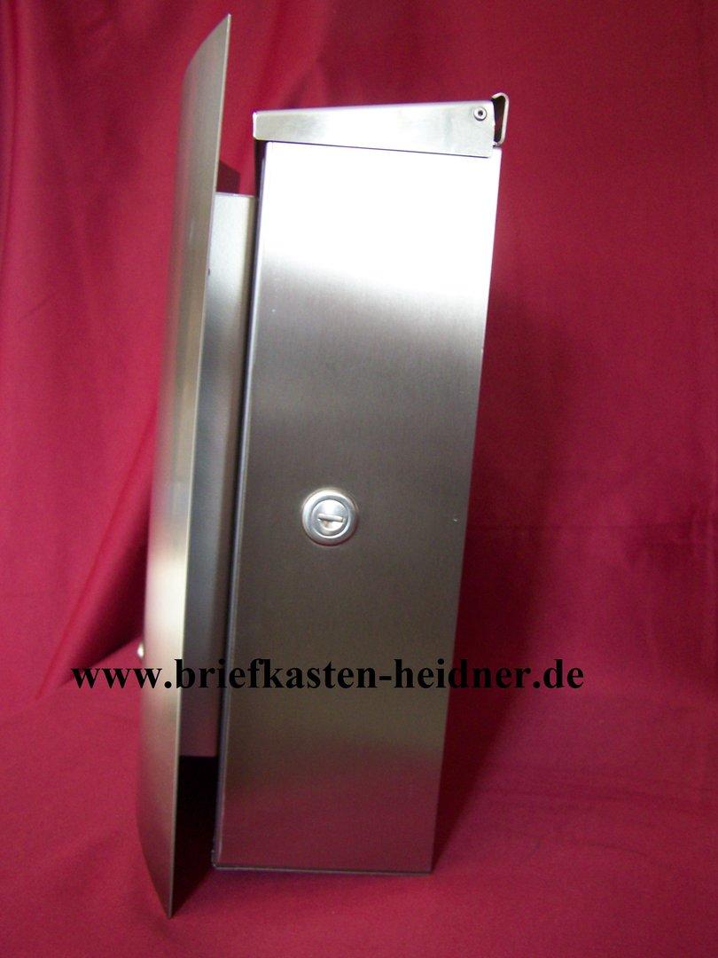 ekh70 knobloch aufputz briefkasten bristol 1 klingel sprechsieb edelstahl www. Black Bedroom Furniture Sets. Home Design Ideas
