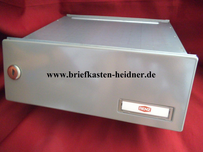 mdh28 renz mauerdurchwurf briefkasten 1 teilig 300mm tiefenverstellbar wei grau oder. Black Bedroom Furniture Sets. Home Design Ideas