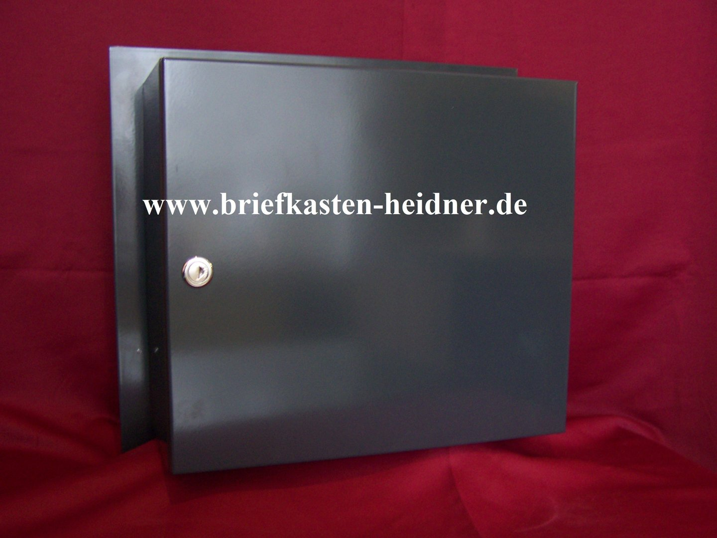 mdh116 knobloch mauerdurchwurf briefkasten 1 teilig fixtiefe 270 anthrazit oder farbauswahl. Black Bedroom Furniture Sets. Home Design Ideas