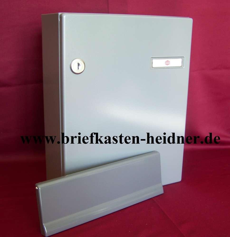KAH41: Renz-Innentür-Briefkastenanlage, 260 mm, grau, ohne ...