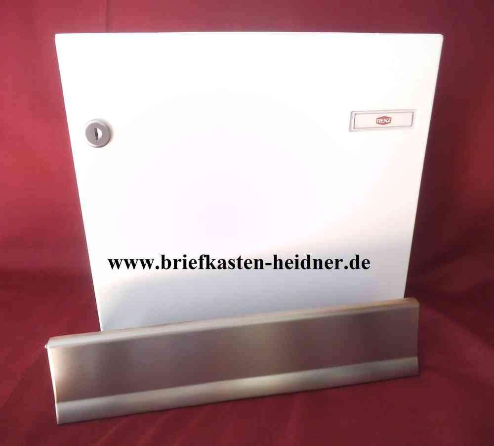KAH81: Renz-Innentür-Briefkastenanlage, 370 mm, weiß oder grau ...