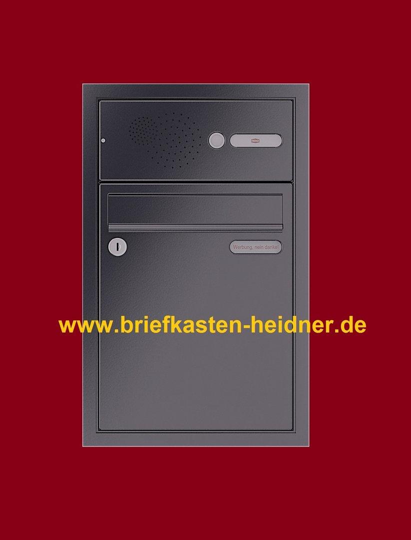 uph171 renz unterputz briefkasten 1 teilig breite 260. Black Bedroom Furniture Sets. Home Design Ideas